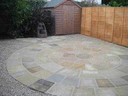 paving and landscaping