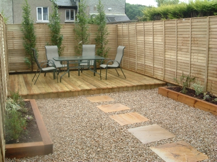 Small garden decking designs pdf for Small garden design ideas decking